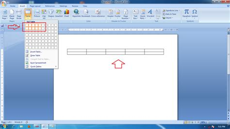 cara membuat tabel struktur organisasi di microsoft word pembuatan tabel dalam microsoft word aplikasi komputer