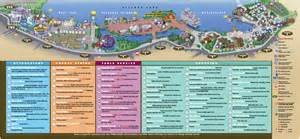 downtown disney map september 2011 photo 1 of 1