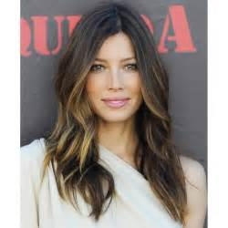2015 jessica biel hair beautiful balayage hair color effect with goldwell pro
