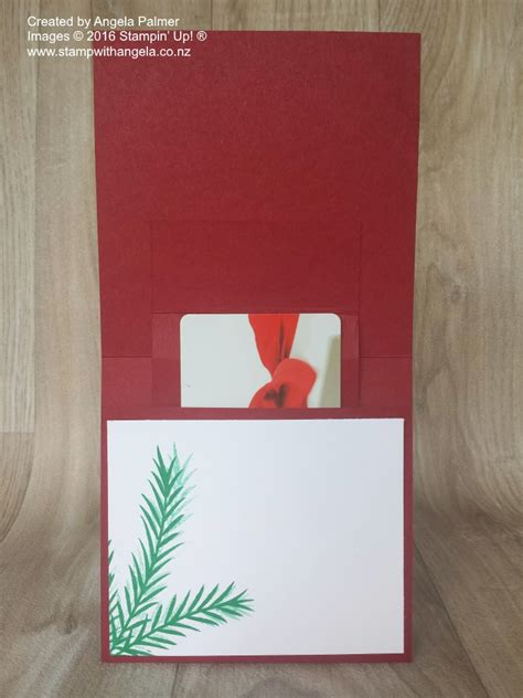 Ups Gift Card - christmas pinecones pop up gift card holder card