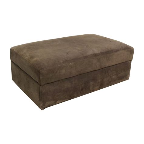 Crate And Barrel Ottoman Storage Ottoman Brown Best Storage Design 2017