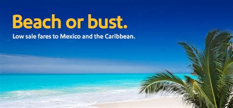 Southwest Sale | southwest sale to mexico and the caribbean from 118 or