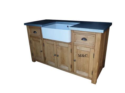 meuble evier de cuisine grand meuble evier de cuisine dessus zinc