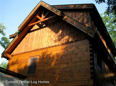 Log Cabin Boards by Board And Batten Siding On Gable Custom Timber Log Homes