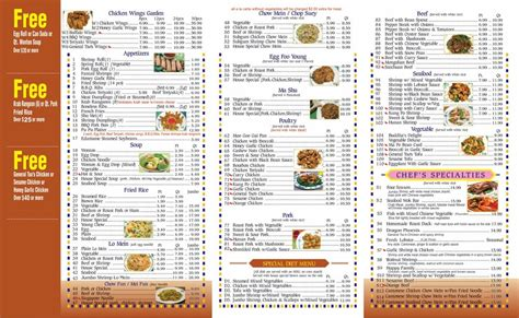 golden house chinese restaurant our to go menu yelp