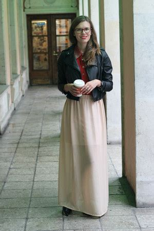 Maxi Dress Blink beige maxi chiffon diy skirts black blink shoes black