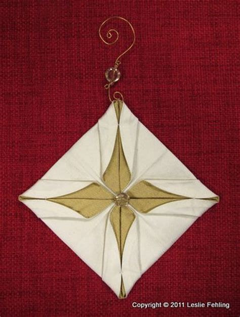 Fabric Origami Ornaments - 11 best images about japanese folding on