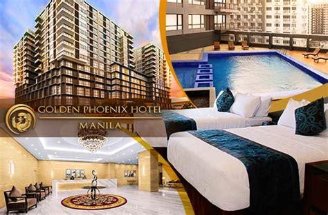 accommodation promo  golden phoenix hotel manila