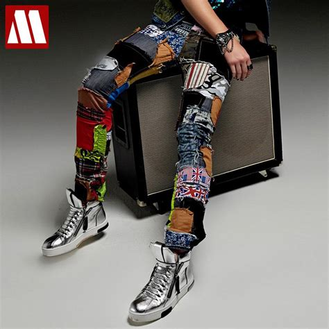 Best Item Kaos New Zero X Store 1 new fashion casual patch beggar singer stage trousers ds costume