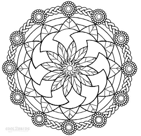free printable mandala coloring pages for adults printable mandala coloring pages for cool2bkids