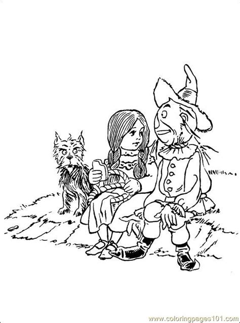 wizard of oz coloring pages download wizard oz 001 8 coloring page free wizard of oz