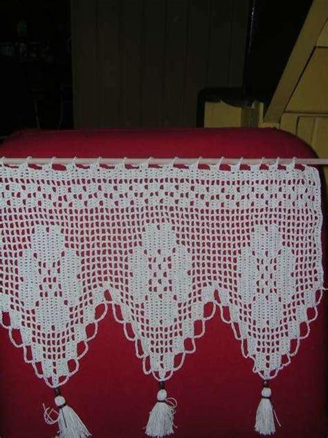 cenefas en crochet cenefas de crochet para cocina imagui