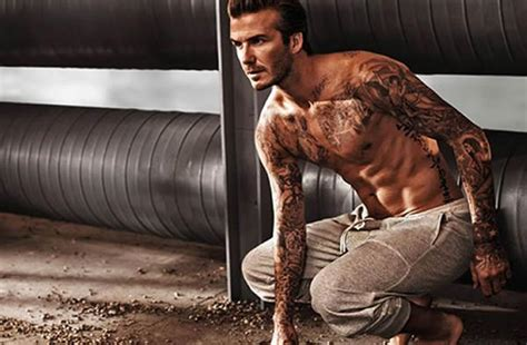 Beckham Is Magazines Of The Year by David Beckham Crowned Magazine S Sexiest Alive