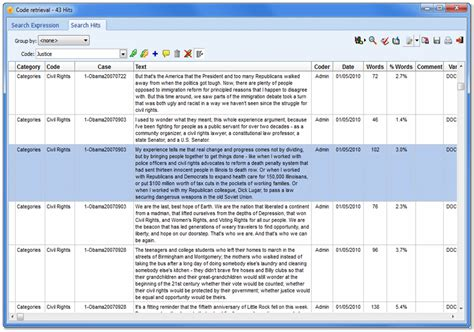 coding walkthrough qualitative data analysis software for mixed methods research