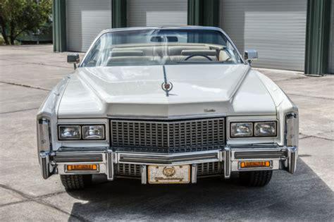 1976 cadillac eldorado convertible 2 door low