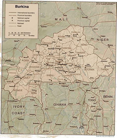 burkina faso map burkina faso map burkina faso africa mappery