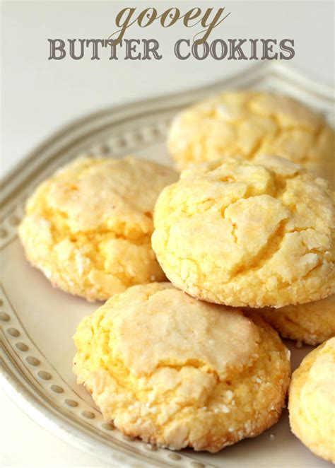 Main Dishes For Christmas - gooey butter cookies
