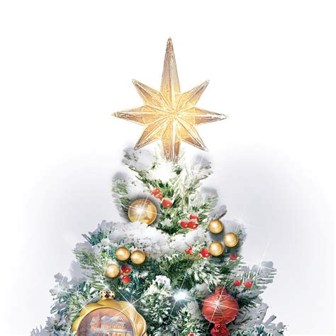 collection thomas kinkade christmas tree topper pictures