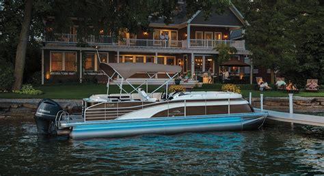 yamaha boats with bathroom pontoon boats by bennington