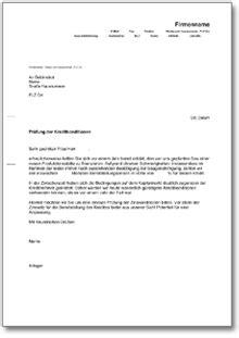 Musterbrief Einladung Mitarbeitergespräch Musterbrief An Die Bank Bitte Um Pr 252 Fung Der