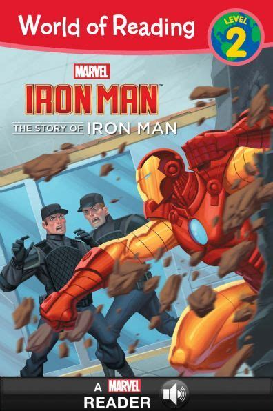 the iron man read world of reading iron man the story of iron man disney books disney publishing worldwide