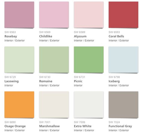 pottery barn paint colors pink pottery barn 2017 summer paint colors