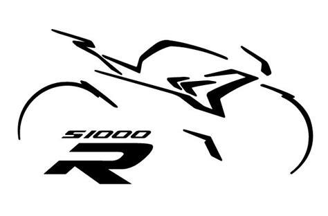 Bmw S1000r Original Aufkleber by Www Timos Plottshop De Bmw S1000r Silhouette Mit Logo