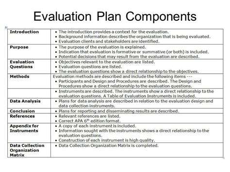 evaluation plan wimba session two program evaluation project ppt