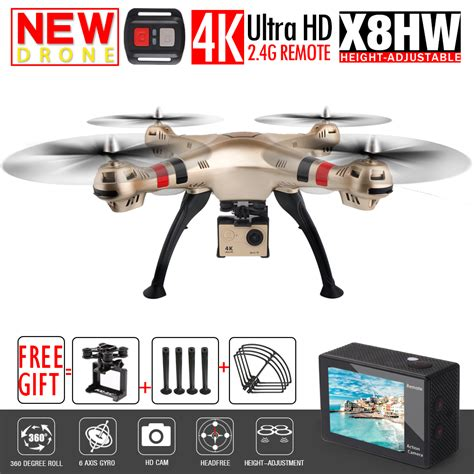 Syma X8hw Fpv Rc Drone new syma x8w x8hw fpv rc drone with 4k 1080p wifi