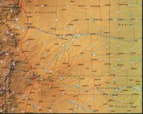 map of colorado and the surrounding region