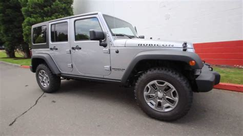 silver jeep rubicon el115491 2014 jeep wrangler unlimited rubicon