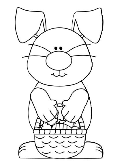 bunny coloring pages for preschoolers easter bunny coloring page crafts and worksheets for