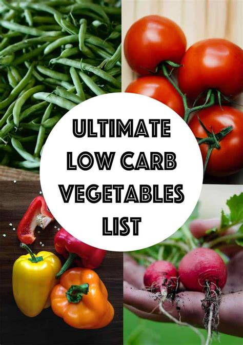 low starch vegetables low carb vegetables list searchable sortable guide