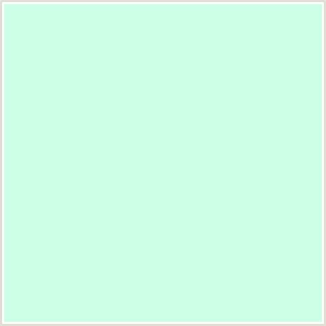 mint green color cdffe6 hex color rgb 205 255 230 aero blue green