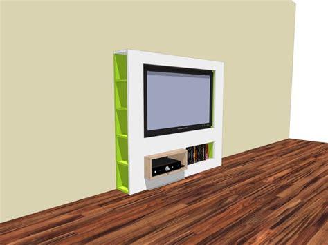 sleek tv stands sleek tv stand self build with neo eko construction drawing strak tv meubel