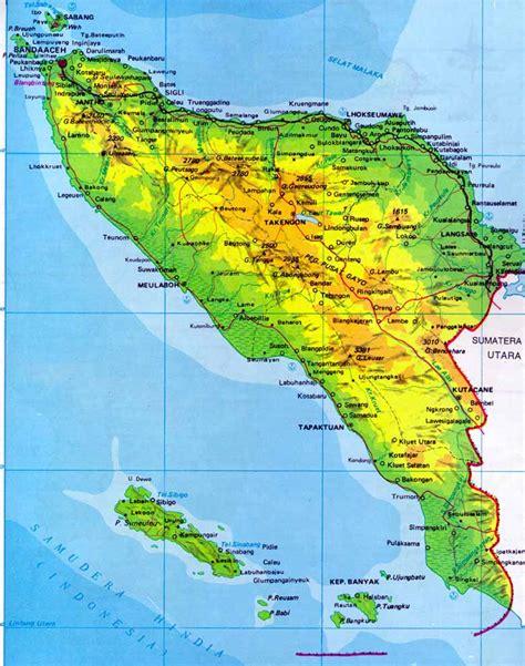 Sk Ii Di Aceh peta aceh visit banda aceh aceh indonesia