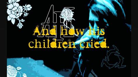 afi miss murder lyrics afi miss murder w lyrics