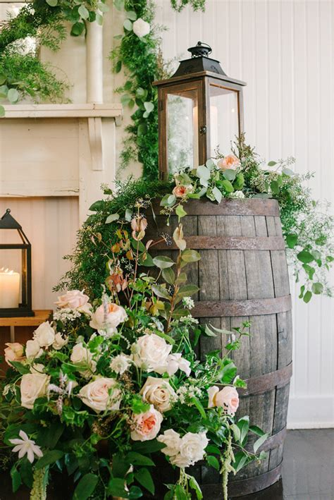 Modern Fall Decorations - 20 adorable ways to use wine barrels for your country wedding oh best day ever