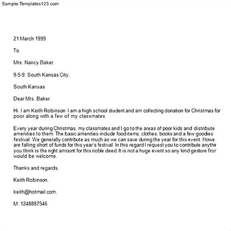 Fundraising Letter Previous Donor Sle Donation Letter Sle Templates