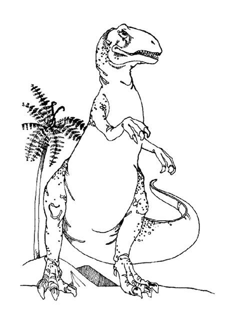 coloring page tree rex cute t rex coloring page coloring home