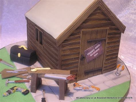 Shed Cakes by Diy Shed Cake The Garden Shed Shaped Cake Ideal For