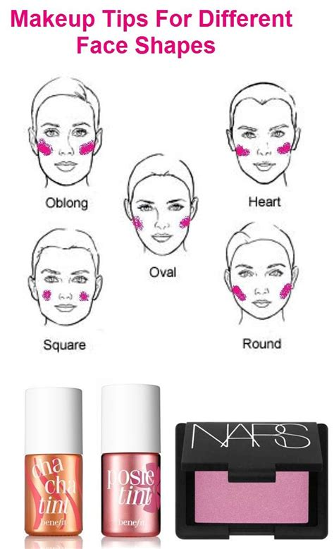 different face shapes need different kinds of makeup 31 best make up love images on pinterest makeup tips