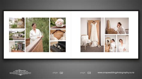 Wedding Album by Snap Wedding Photographywedding Album Strowan House St