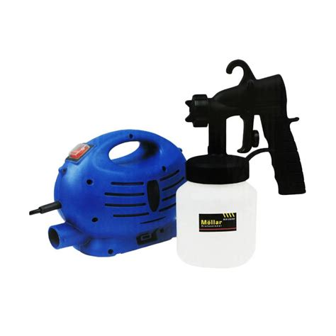 Cat Mesin Mesin Enamel Dengan Ceramic jual daily deals mollar mlr esg350 paint zoom spray gun listrik mesin semprot cat