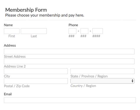 church membership form template enom warb co