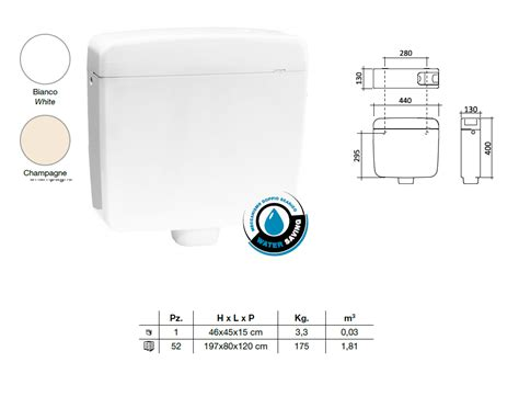 cassette esterne wc classic duo soluzioni sistemi idrotermosanitari