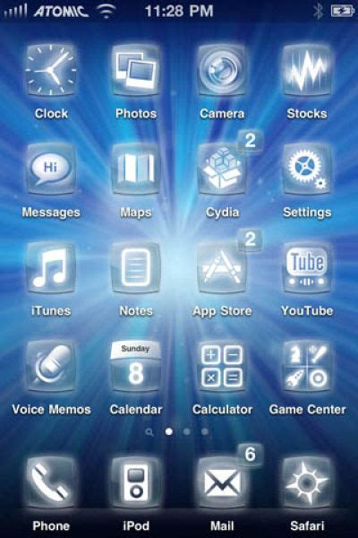 iphone themes names some of the coolest iphone 4 themes 50 pics picture 7
