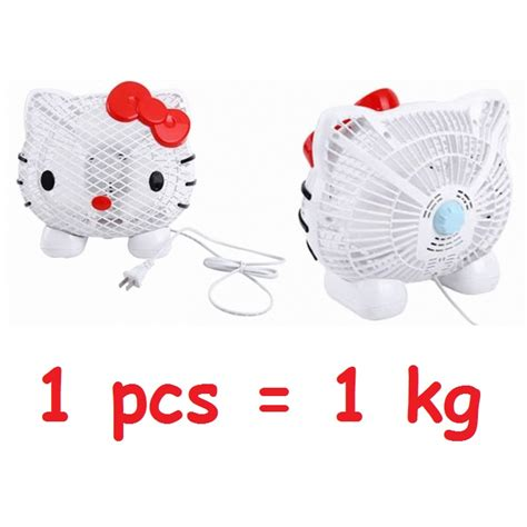 Kipas Angin Mini Karakter jual kipas angin mini fan karakter lucu hello