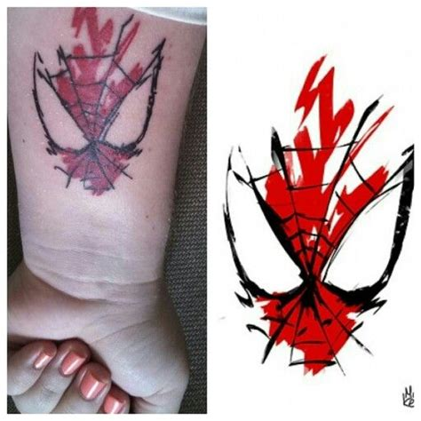 tattoo logo spiderman spiderman spider logo tattoo