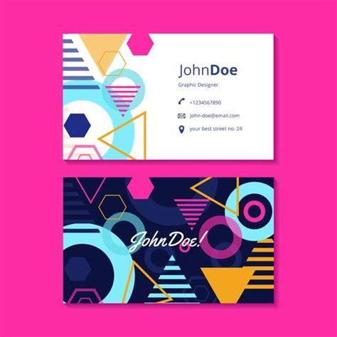 Visiting Card Graphics Design